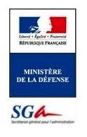 Logo SGA Ministère de la Défense