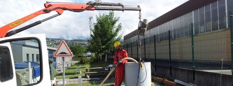 Régénération de forages avec traitement à l'azote pulsé (Hydropuls)