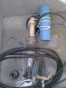 Forage rechemisé en PVC